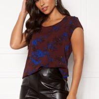 ONLY Nova Lux S/S Top Chocolate Truffle 36