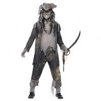 Pirat Spøkelse Kostyme - M