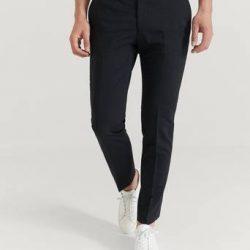 Pour Dressbukse Danny Suit Trousers Svart