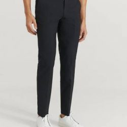 Studio Total Bukse Tyler Suit Trousers Svart
