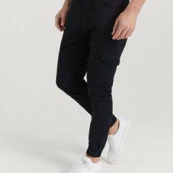 Studio Total Cargobukse Favourite Cargo Trousers Svart
