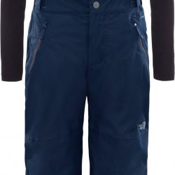 The North Face Snowquest Suspender Plus Bukse Barn, Cosmic Blue XS
