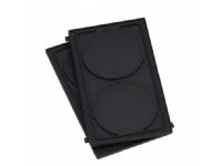 WMF Snack Master, Crepe plate, Aluminium, Svart, CE, 138 mm, 226 mm