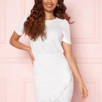 BUBBLEROOM Belle Dress White 34