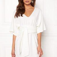 BUBBLEROOM Joelle dress White 40