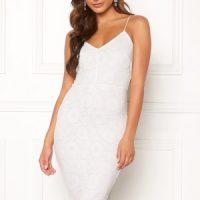 BUBBLEROOM Neoline lace dress White S