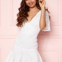 BUBBLEROOM Starla Lace Dress White 32