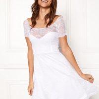 BUBBLEROOM Superior lace dress White XS