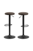 Barstol Frans 2-pk, 62-88 cm