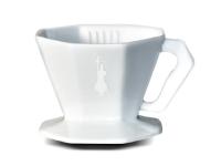 Bialetti - Pour over - Keramik - Hvid - 4 Kopper