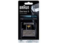 Braun BR-KP8000, Barberblad, 1 hoder, Svart, Braun, 550, 560, 570cc, 590cc, 8385, 8374, 8377, 8995, 590cc, 540, 570cc, 8970, 8985, 8986, 8987,8595,..., Blister