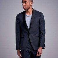 Calvin Klein Dressjakke Tuxedo Blazer Svart