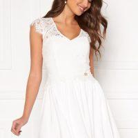Chiara Forthi Amante lace dress White 40