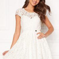 Chiara Forthi Guidia lace dress White 32