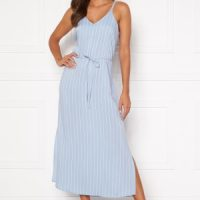 Happy Holly Annabelle dress Light blue / Striped 52/54