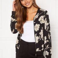 Happy Holly Hanna bomber jacket Floral 36/38