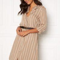 Happy Holly Juliette shirt dress Beige / Offwhite 44/46