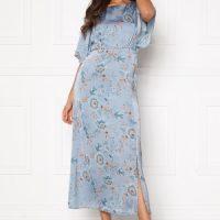 Happy Holly Mila dress Light blue / Patterned 48