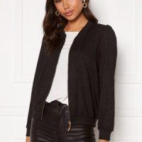 Happy Holly Simone puff jacket Black 48/50