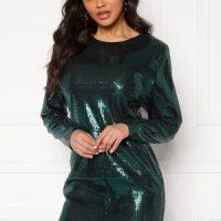 Ivyrevel Sequin Mini Dress Dark Green L