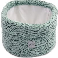 Jollein River Knit Oppbevaringskurv, Green