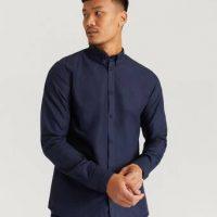 Les Deux Skjorta Christoph Oxford Shirt Blå