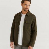 Lyle & Scott Overshirt Cotton/Nylon Overshirt Grønn