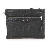 Motocross Classic Clip Clutch Bag Leather Calf France
