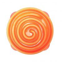 Outward Hound Outward Matskål for hunder Slo Bowl koral oransje 1577