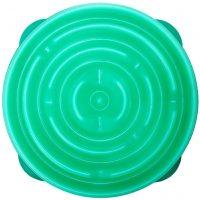 Outward Hound Spis langsomt matskål Slo Bowl drop teal 1578