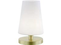 Paul Neuhaus SONJA 4146-60 Bordlampe LED (RGB) G9 3 W Opal, Messing (mat)