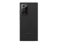 Samsung - Baksidedeksel for mobiltelefon - silikon - mystisk svart - 6.9 - for Galaxy Note20 Ultra, Note20 Ultra 5G