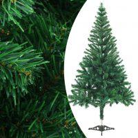 vidaXL Kunstig juletre med fot 150 cm 380 grener