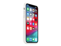Apple Smart - Batterikasse for mobiltelefon - silikon - hvit - for iPhone XR