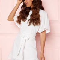 BUBBLEROOM Rhia Dress White 42