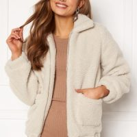 BUBBLEROOM Tove teddy jacket Offwhite 42