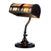 Bordlampe KT4613 i Tiffany-design