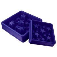 EAT SLOW LIVE LONGER Matskål spis langsomt Star blå L