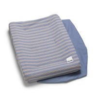 Elodie Changing Pad Covers Sandy Stripe one size