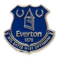 Everton Badge - Sølv/Blå