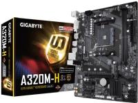 Gigabyte GA-A320M-H, AMD, AM4, AMD A,AMD Athlon,AMD Ryzen, DDR4-SDRAM, DIMM, 2133,2400,2667,2933,3200 MHz