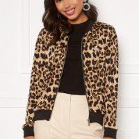 Happy Holly Hanna bomber jacket Leopard 32/34