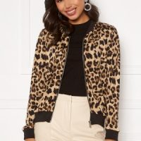Happy Holly Hanna bomber jacket Leopard 48/50