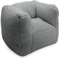 Jollein Sofa Beanbag Teddy, Cream Grey