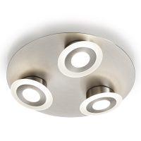 LED-taklampe Alida, 3 lyskilder