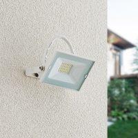 Lindby Aine LED-utespot hvit 8,3 cm