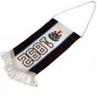 Newcastle United Mini Vimpel - Sort/Hvit