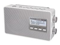 Panasonic-RF-D10EG - Bærbar DAB-radio - 2 watt - hvit