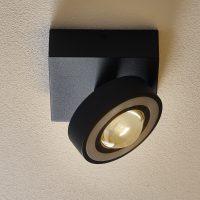 Paul Neuhaus Q-MIA LED-taklampe antrasitt