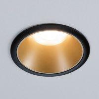 Paulmann Cole Spotlight GU10 svart/gull